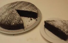 torta cioccolato senza latte