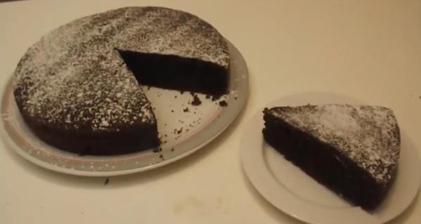 torta cioccolato classica fatta casa